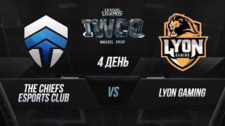 Chiefs vs Lyon, game 1