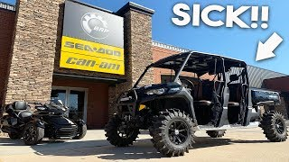 6. HERE IT IS!! 2019 Canam Defender HD10 Lone Star Edition