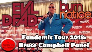 Fandemic Tour 2018: Bruce Campbell Panel