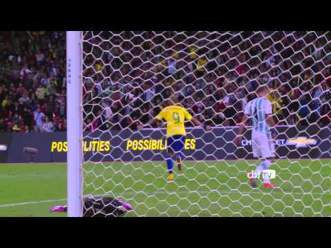 Brasil bate Argentina por 2x0 e vence o Superclássico das Américas
