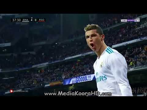 Real Madrid 5-2 Real Sociedad Goals LaLiga 10/2 2018 HD