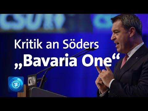 """Bavaria One"": Diskussion über Söders Raumfahrtpläne"