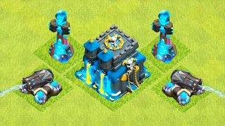 UPDATE DE HALLOWEEN NO CLASH OF CLANS!