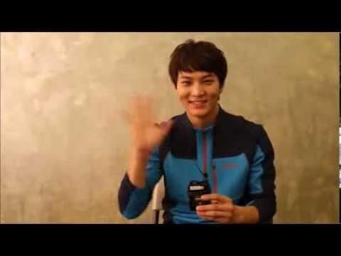 【RAW】Joo Won for Mountia F/W 2013 Interview (видео)