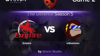 mBusiness vs Empire, game 2