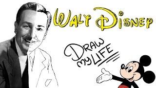 Video WALT DISNEY | Draw My Life MP3, 3GP, MP4, WEBM, AVI, FLV November 2017