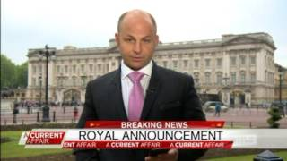 Tracy Grimshaw make the wrong royal announcement.