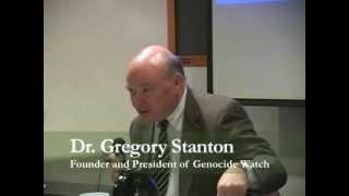 Dr. Stanton Addresses the Global Peace Leadership Forum