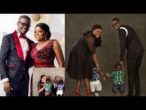 WATCH Yoruba Actress Funke Akindele Finally Reveal Her Twins As She Celebrates Their First Birthday