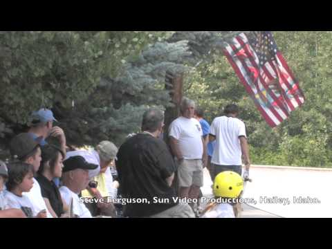 Ketchum Skate Park Competition Promo for August 23rd, 2014.