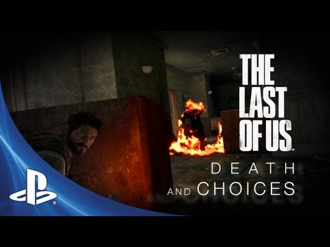 Death - The third video of The Last of Us Development series highlights crafting and scavenging, and the difficult choices Joel and Ellie must make in order to survi...