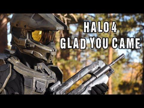 Tekst piosenki The Warp Zone - Helo 4 - Glad You Came po polsku