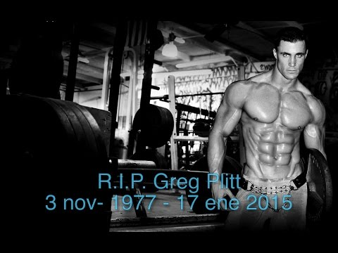 Fallece Greg Plitt (Fitness Model)