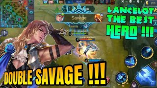 Video SAVAGE TERBAIK LANCELOT | NEW HERO KNIGHT | MOBILE LEGENDS : Bang-Bang #Part3 MP3, 3GP, MP4, WEBM, AVI, FLV Juni 2018