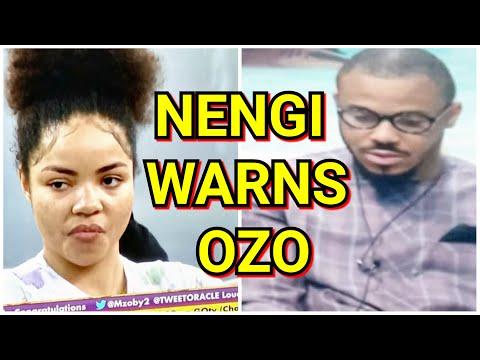OZO GET 2ND STRIKE; DOROTHY SHAME OZO; OZO PLAY WITH NENGI AGAIN; BBNAIJA 2020