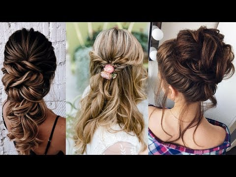 Hairstyles for long hair - Hairstyle Tutorial Compilation For Beginners