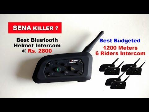 SENA Killer -  Vnetphone V6 - 6 Riders Helmet Intercom System - 40$