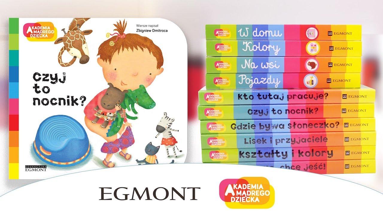 Książki z cyklu Akademia Mądrego Dziecka, Egmont