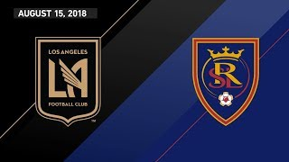 HIGHLIGHTS: Los Angeles Football Club vs. Real Salt Lake | August 15, 2018 by Major League Soccer