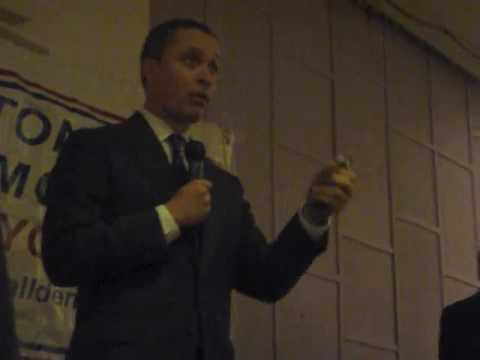 Harold Ford Jr - On February 24, 2010 in Manhattan.
