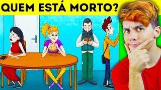 QUEM ESTÁ MORTO? ☆ CHARADAS ANIMADAS DE MISTÉRIO PARA TESTAR SEU QI ☆