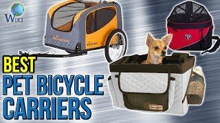 10 Best Pet Bicycle Carriers 2017