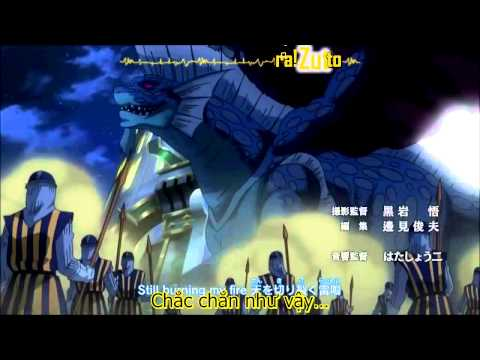 [EnA Sub] (Vietsub+Kara) Fairy Tail opening 16 full HD - Strike Back