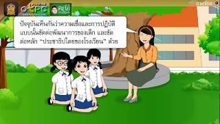 สื่อการเรียนการสอน รอบรู้โลกกว้าง เห็นทางถูกผิด ป.6 ภาษาไทย