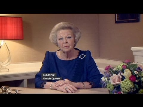 Dutchqueen - http://www.euronews.com/ Queen Beatrix of the Netherlands has announced plans to step aside in favour of her son, saying:
