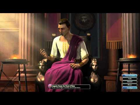 Civilization V OST | Augustus Caesar War Theme | Ancient Roman Melody Fragments