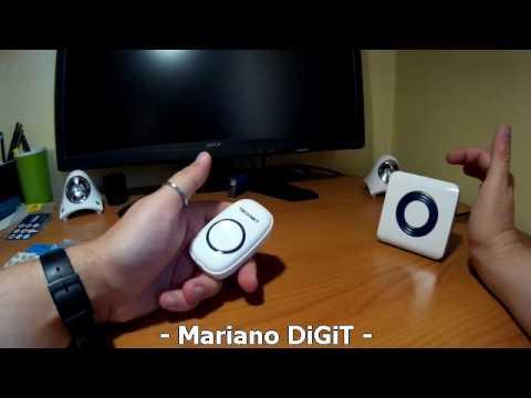 Videorecens ITA Campanello Senza Fili, TeckNet Premium Wireless Waterproof Doorbell