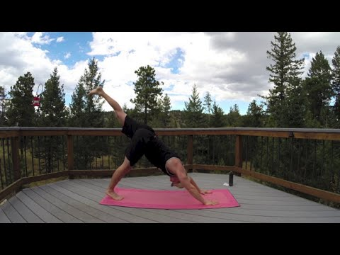 30 Min Power Yoga Workout w/ Sean Vigue – HASfit Power Yoga Exercises for Strength – Workouts