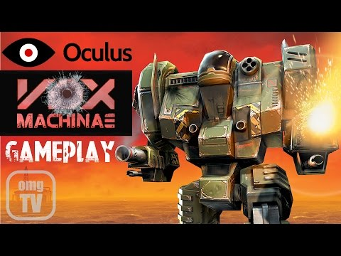 Vox Machinae Gameplay on Oculus Rift DK2 - Mech simulator