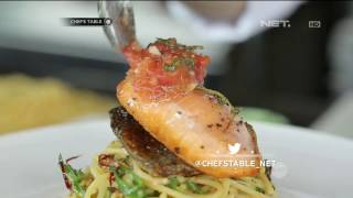 Video Chef's Table : Main Course A Glio Olio Salmon With Tomato Thyme Salsa MP3, 3GP, MP4, WEBM, AVI, FLV Juni 2019