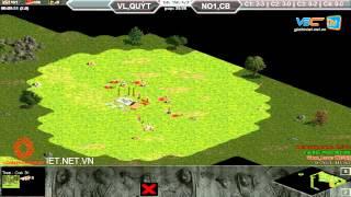 Vanelove, Quýt vs No1, Chjpboy C3T3, Ngày 28/08/2015, game đế chế, clip aoe, chim sẻ đi nắng, aoe 2015