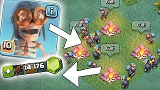 Video THIS IS TOO EASY!!! | GEM TO MAX LVL 10 BOMBERS!! | Clash Of Clans MP3, 3GP, MP4, WEBM, AVI, FLV Mei 2017