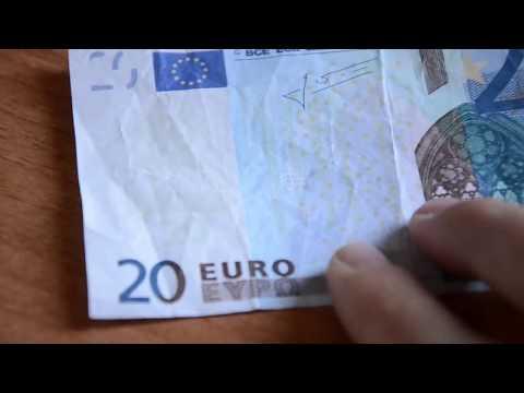 nuova truffa: come riconoscere i 20 euro falsi!