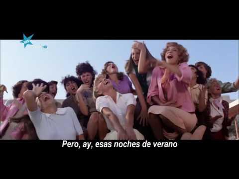 Grease - Summer Nights HD - Subtitulos en Castellano