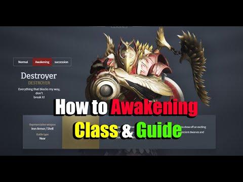 Black Desert Mobile How to Awakening Class & Guide