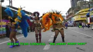 Video Trinidad Carnival 2009 / Dream Team jammin street party MP3, 3GP, MP4, WEBM, AVI, FLV Juni 2019