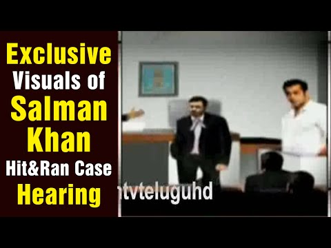 Exclusive Court Visuals of Salman Khan Case Hearing
