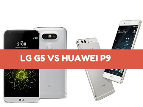 LG G5 vs Huawei P9, video confronto