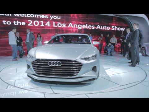 LA Auto Show: Peeking Into Audi
