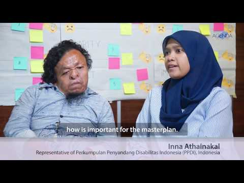 Image of the video: AGENDA Interview with Indonesian Disability Rights Advocates