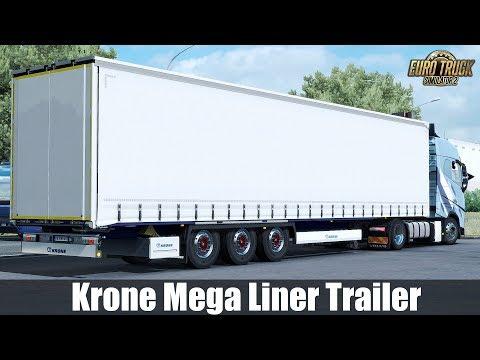 Krone Mega Liner Trailer - Update 1.31.x
