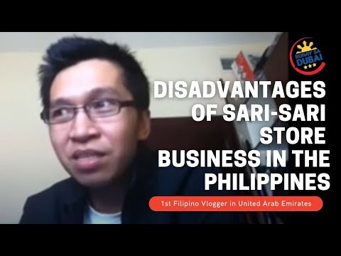 OFW || Disadvantages of  Sari-Sari Store business in the Philippines
