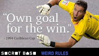 Video Barbados intentionally scored an own goal to help them win by two thanks to a weird golden goal rule MP3, 3GP, MP4, WEBM, AVI, FLV Juli 2019