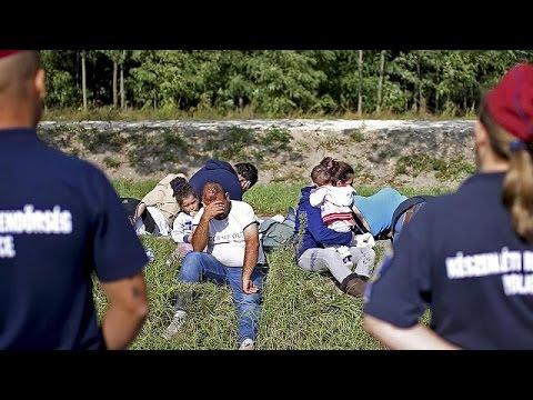 Ουγγαρία: Οι πρώτες συλλήψεις προσφύγων στα σύνορα