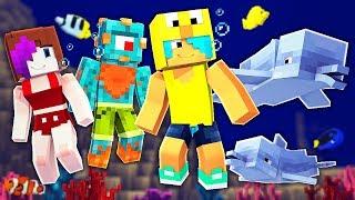 DOLPHINS! Aquatic Update is Here! Minecraft Summer Survival Adventure