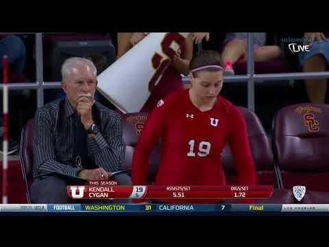 Utah at USC - NCAA Womens Volleyball (Oct 11th 2014)
